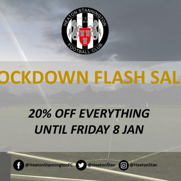 Lockdown Flash Sale!